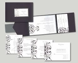 pocket wedding invitation scrolls pocket wedding invitation