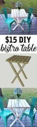 Woodworking Plans For Small Tables by Bistro Table Building Plans For Only 15 Woodworking Wood