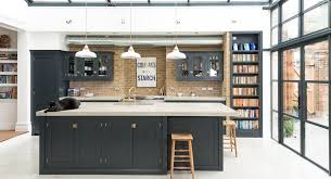 shaker kitchen island shaker kitchens by devol handmade painted kitchens