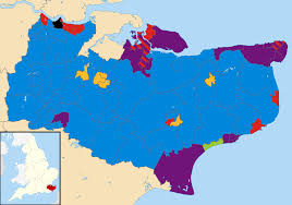 Kcc Map Kent County Council Election 2013 Wikipedia