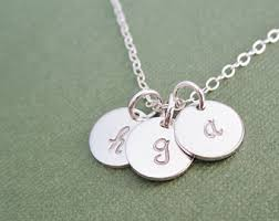 children s initial necklace for tiny gold initial necklace mothers necklace