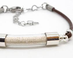 memorial bracelets for loved ones ashes bracelet etsy
