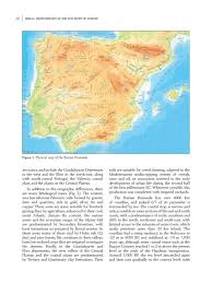 Iberia Route Map by Protohistory Simplebooklet Com