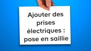 alimentation electrique cuisine ajouter des prises électriques pose en saillie castorama