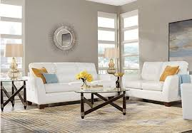 White Leather Living Room Set White Leather Living Room Sets White Leather Furniture