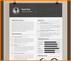 attractive resume templates 5 attractive resume templates free scholarship letter