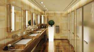 modern bathrooms 3d interior design for hotel restaurant toilet