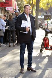 New York How To Fold A Suit For Travel images Karl stefanovic 39 cutting loose 39 with the boys during work trip to jpg