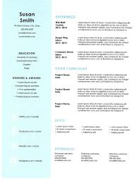 Resume Builder Printable Free Free Vector Resume Template Download 30 Free Beautiful Resume