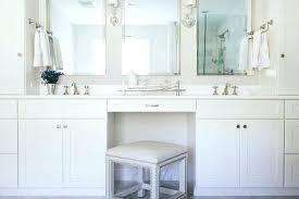 Bathroom Cabinets Built In Vanities Bathroom Vanity Chair With Back Bathroom Vanity Chairs