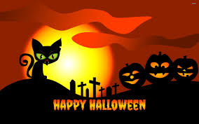 free halloween wallpaper halloween cat hd images hd wallpapers pictures and background