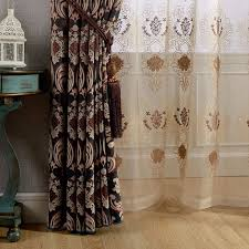 Brown Patterned Curtains Brown Patterned Curtains Home Design Ideas And Pictures