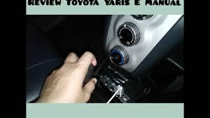 review toyota yaris e manual 2008 youtube