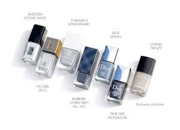 7 shades of grey nail lacquer the beauty look book