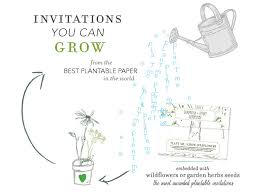 plantable wedding invitations foreverfiances plantable invitations invitations ca weddingwire