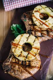 grilled hawaiian style pork chops paleo leap
