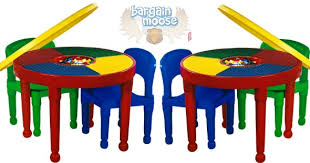 tot tutors table chair set tot tutors 2 in 1 construction table chairs set was 80 now 35