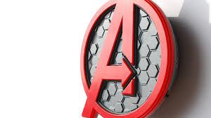 Avengers Wall Lights Avengers Logo 3dlightfx