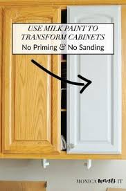 sanding paint off cabinets how to paint kitchen cabinets without sanding or priming step by