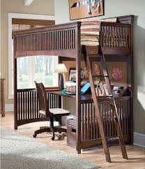 Bunk Beds With Desk Underneath Image Of Full Size Loft Bed With - Kids bunk bed desk