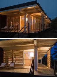 Contemporary Cabin A Small Contemporary Cabin Designed For A Rocky Coastline