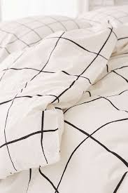 Duvet Cover Sheets Wonky Grid Duvet Cover Urban Outfitters