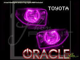 Automotive Led Lights Bulbs by Oracle 05 15 Toyota Tacoma Led Halo Rings Head Fog Lights Bulbs