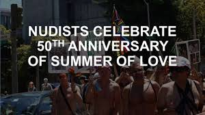 nudists celebrate the summer of in castro sfgate