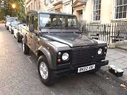 land rover defender 110 convertible land rover defender 110 double cab pick up county td5 heated seats