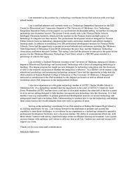cover letter for adjunct instructor sample cover letter adjunct