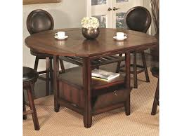 u s furniture inc 2251 2252 round top pub table with storage base