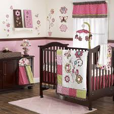 cute nursery bedding baby crib skirts baby floral bedding