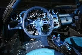 Pagani Zonda Interior Blue Carbon Pagani Zonda Roadster F 1 1 Cars