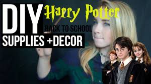 Harry Potter Decor by Diy Harry Potter Supplies Decor Giveaway Winner Youtube