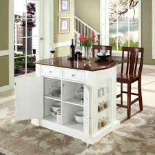 stunning portable kitchen island with stools and inspirations