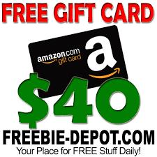 gift card free free 40 gift card freebie depot