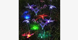 solar powered led color changing lawn l led solar powered lights