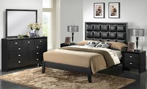 Contemporary King Bedroom Sets Bedroom Beautiful Black 5 Piece Modern Bedroom Set King Size