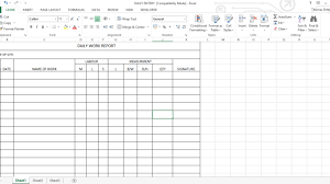 daily work report template daily work report excel sheet engineering feed