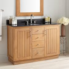 Double Sink Vanity 48 Inches Bathroom Adds A Luxurious Feeling To Your New Contemporary