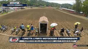 ama motocross on tv loretta lynn amateur motocross championship day 4 racertv