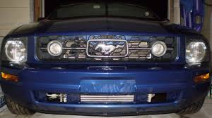 2007 mustang grill how to install a lower front bumper grille for 2005 2009 mustang