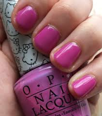 the beauty of life manimonday hello kitty by opi super cute in pink