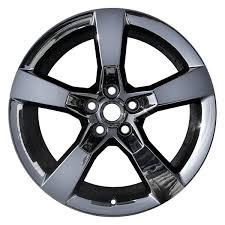 camaro 2013 wheels cci chevy camaro 2013 20 remanufactured 5 flat spokes factory