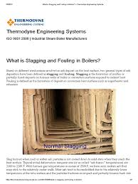 boiler operation engineer study guide what is slagging and fouling in boilers u2013 thermodyne engineering