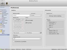 Wedding Planner Software Wedding Planner Screenshots Rbcafe Softwares For Osx