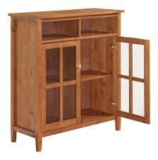 Media Storage Shelves by Shaker Media Storage Cabinet Tv Stand Bookcase Shelf Shelves Hutch