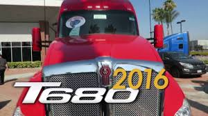 mhc kenworth near me viper red kenworth 2016 t680 inland kenworth of fontana youtube