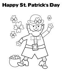 st patrick u0027s day coloring sheet u0026 coloring book