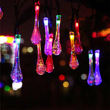 outdoor party lighting aliexpress com buy solla 20led solar powered water drop string